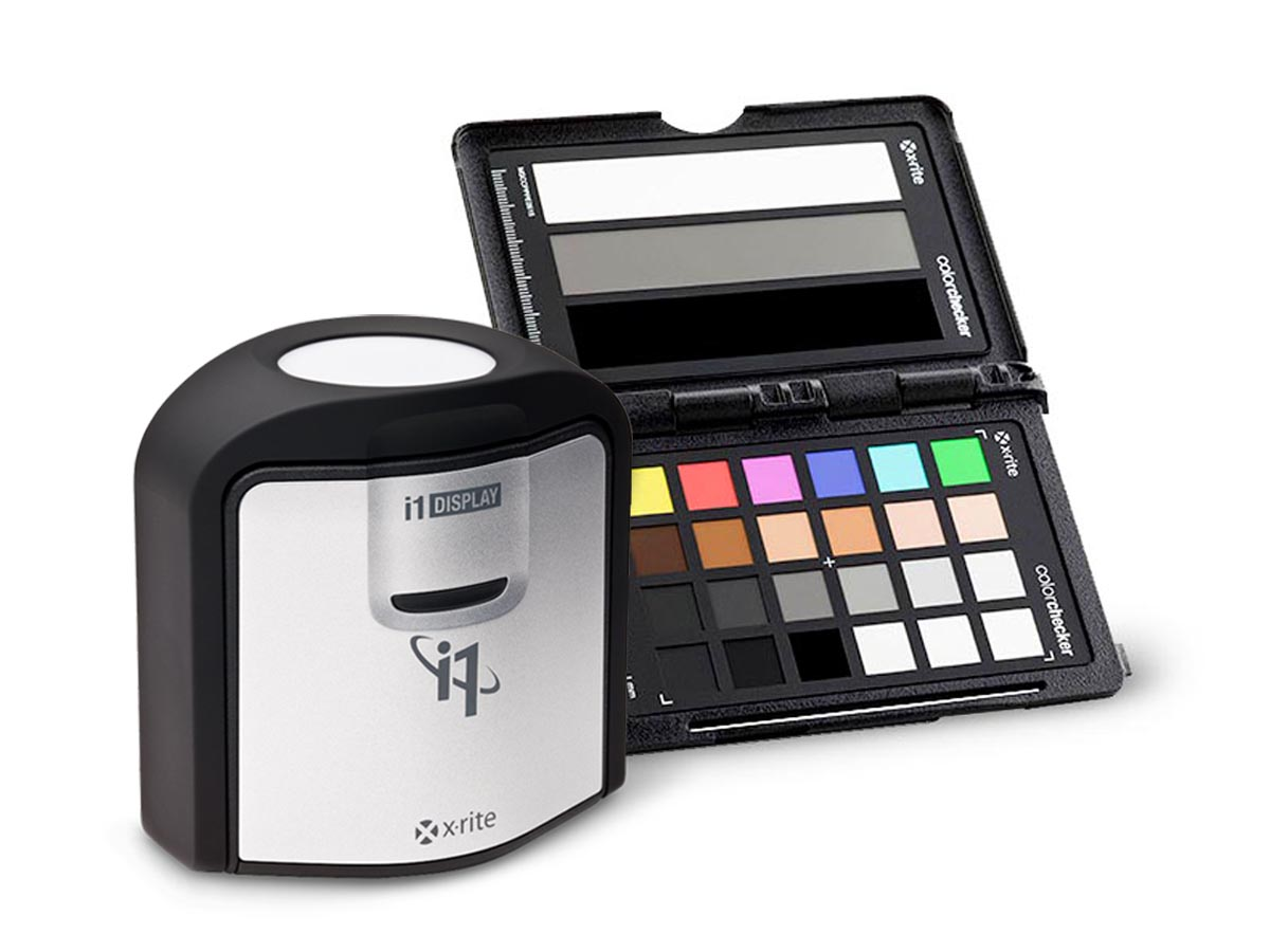 i1Display Pro + ColorChecker Passport VIDEO = i1 Filmmaker KIT
